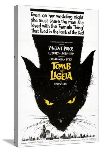 """Edgar Allan Poe's the Tomb of Ligeia, 1964, """"The Tomb of Ligeia"""" Directed by Roger Corman--Stretched Canvas Print"""