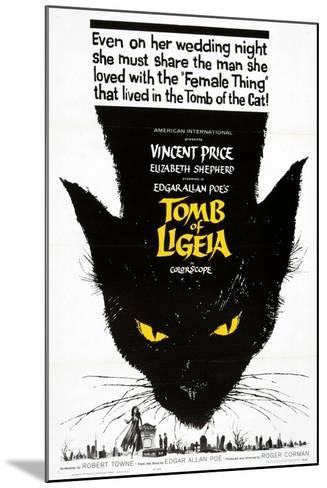 """Edgar Allan Poe's the Tomb of Ligeia, 1964, """"The Tomb of Ligeia"""" Directed by Roger Corman--Mounted Giclee Print"""