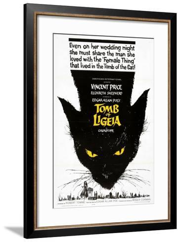 """Edgar Allan Poe's the Tomb of Ligeia, 1964, """"The Tomb of Ligeia"""" Directed by Roger Corman--Framed Art Print"""