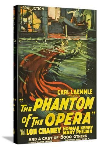 The Phantom of the Opera, 1925, Directed by Rupert Julian--Stretched Canvas Print