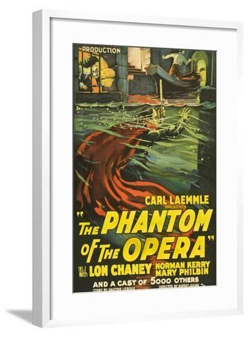 The Phantom of the Opera, 1925, Directed by Rupert Julian--Framed Art Print