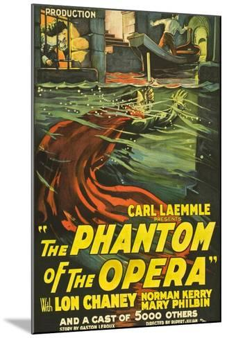 The Phantom of the Opera, 1925, Directed by Rupert Julian--Mounted Giclee Print