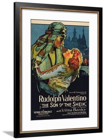 The Son of the Sheik, 1926, Directed by George Fitzmaurice--Framed Art Print
