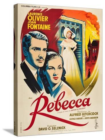 Rebecca, 1940, Directed by Alfred Hitchcock--Stretched Canvas Print