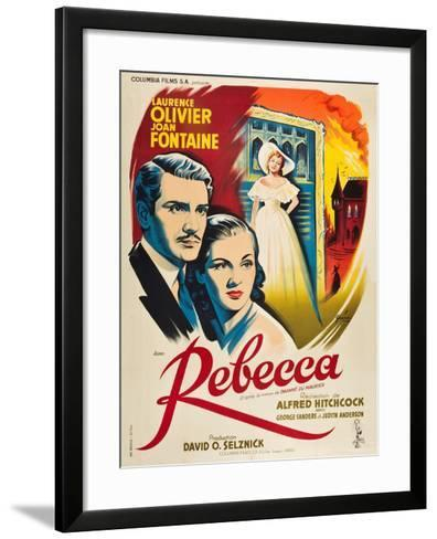 Rebecca, 1940, Directed by Alfred Hitchcock--Framed Art Print