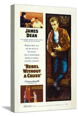 Rebel Without a Cause, 1955, Directed by Nicholas Ray--Stretched Canvas Print