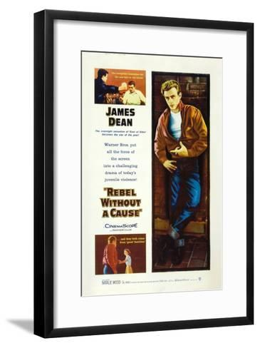 Rebel Without a Cause, 1955, Directed by Nicholas Ray--Framed Art Print