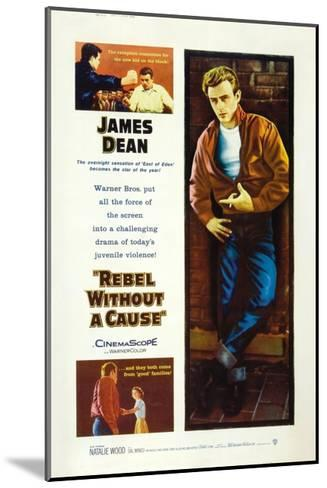 Rebel Without a Cause, 1955, Directed by Nicholas Ray--Mounted Giclee Print