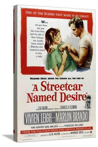 A Streetcar Named Desire, 1951, Directed by Elia Kazan--Stretched Canvas Print