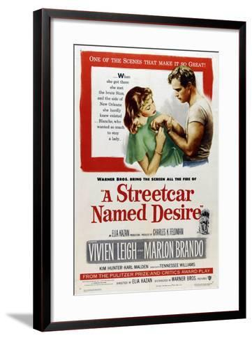A Streetcar Named Desire, 1951, Directed by Elia Kazan--Framed Art Print
