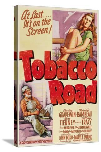 Tobacco Road, 1941, Directed by John Ford--Stretched Canvas Print