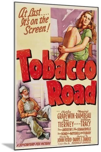 Tobacco Road, 1941, Directed by John Ford--Mounted Giclee Print