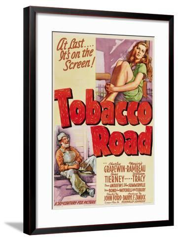 Tobacco Road, 1941, Directed by John Ford--Framed Art Print