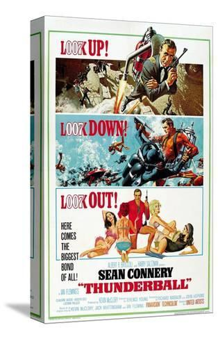 """Ian Fleming's Thunderball, 1965, """"Thunderball"""" Directed by Terence Young--Stretched Canvas Print"""