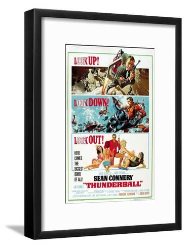 """Ian Fleming's Thunderball, 1965, """"Thunderball"""" Directed by Terence Young--Framed Art Print"""