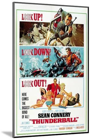 """Ian Fleming's Thunderball, 1965, """"Thunderball"""" Directed by Terence Young--Mounted Giclee Print"""
