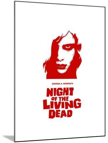 """""""Night of the Living Dead"""" Directed by George A. Romero--Mounted Giclee Print"""