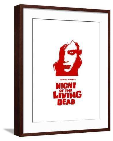 """""""Night of the Living Dead"""" Directed by George A. Romero--Framed Art Print"""