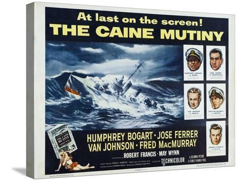 The Caine Mutiny, 1954, Directed by Edward Dmytryk--Stretched Canvas Print
