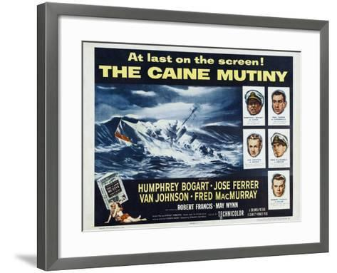 The Caine Mutiny, 1954, Directed by Edward Dmytryk--Framed Art Print