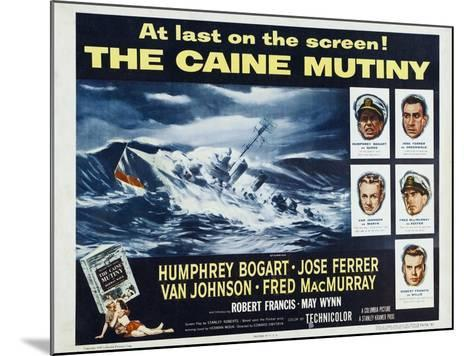 The Caine Mutiny, 1954, Directed by Edward Dmytryk--Mounted Giclee Print
