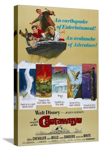 "Castaways, 1962, ""In Search of the Castaways"" Directed by Robert Stevenson--Stretched Canvas Print"