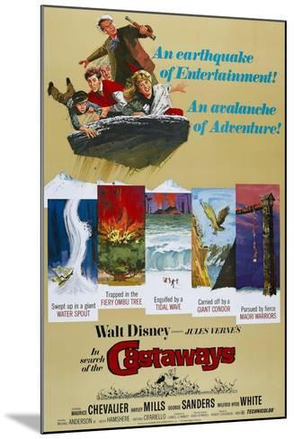 "Castaways, 1962, ""In Search of the Castaways"" Directed by Robert Stevenson--Mounted Giclee Print"