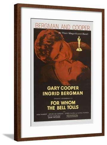 For Whom the Bell Tolls, 1943, Directed by Sam Wood--Framed Art Print