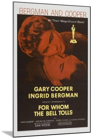 For Whom the Bell Tolls, 1943, Directed by Sam Wood--Mounted Giclee Print