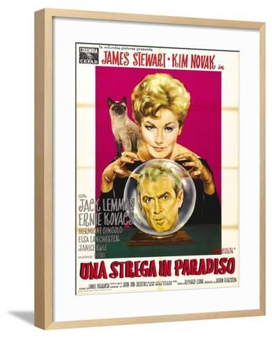 """Bell, Book And Candle, 1958, """"Bell Book And Candle"""" Directed by Richard Quine--Framed Art Print"""