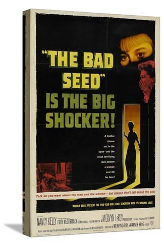 The Bad Seed, 1956, Directed by Mervyn Leroy--Stretched Canvas Print