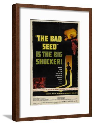 The Bad Seed, 1956, Directed by Mervyn Leroy--Framed Art Print