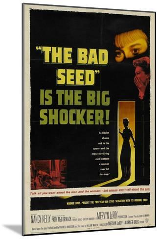 The Bad Seed, 1956, Directed by Mervyn Leroy--Mounted Giclee Print