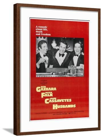 Husbands: a Comedy About Life, Death And Freedom, Directed by John Cassavetes, 1970--Framed Art Print