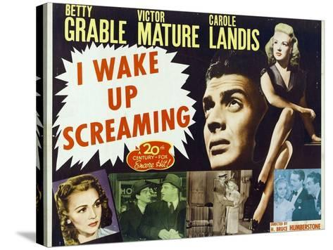 """Hot Spot, 1941, """"I Wake Up Screaming"""" Directed by H. Bruce """"Lucky"""" Humberstone--Stretched Canvas Print"""
