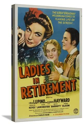 Ladies In Retirement, 1941, Directed by Charles Vidor--Stretched Canvas Print