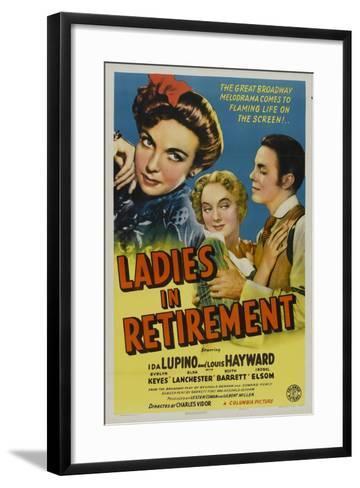 Ladies In Retirement, 1941, Directed by Charles Vidor--Framed Art Print