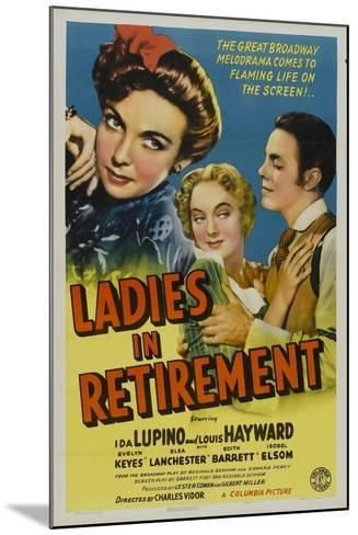Ladies In Retirement, 1941, Directed by Charles Vidor--Mounted Giclee Print