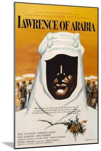 Lawrence of Arabia, 1962, Directed by David Lean--Mounted Giclee Print
