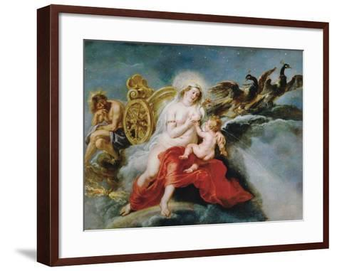 The Birth of the Milky Way, 1636-1637-Peter Paul Rubens-Framed Art Print