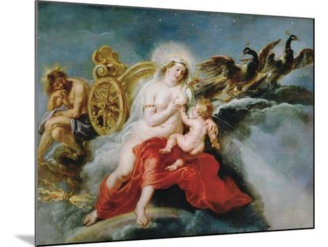 The Birth of the Milky Way, 1636-1637-Peter Paul Rubens-Mounted Giclee Print