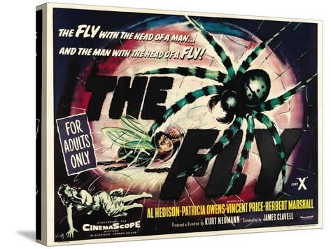The Fly, 1958, Directed by Kurt Neumann--Stretched Canvas Print