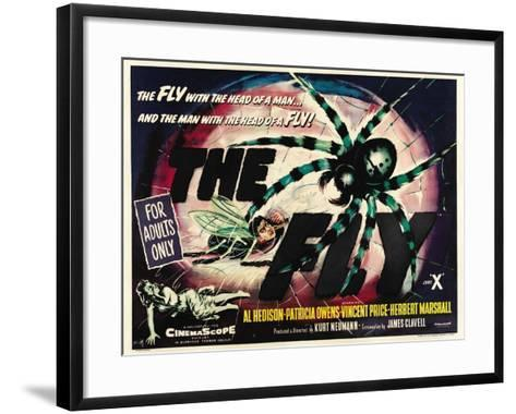 The Fly, 1958, Directed by Kurt Neumann--Framed Art Print