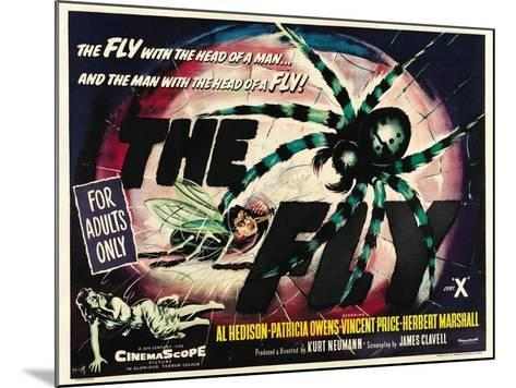 The Fly, 1958, Directed by Kurt Neumann--Mounted Giclee Print