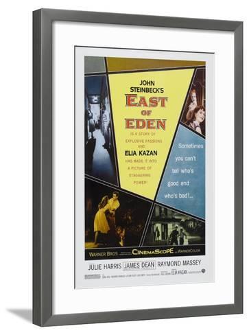 """John Steinbeck's East of Eden, 1955, """"East of Eden"""" Directed by Elia Kazan--Framed Art Print"""