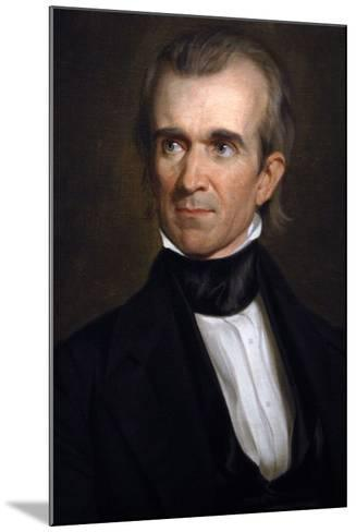 James K. Polk . 11th President of the United States. Washington D.c-George Peter Alexander Healy-Mounted Giclee Print