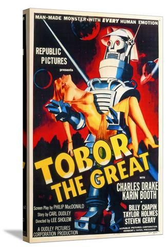 Tobor the Great, 1954, Directed by Lee Sholem--Stretched Canvas Print
