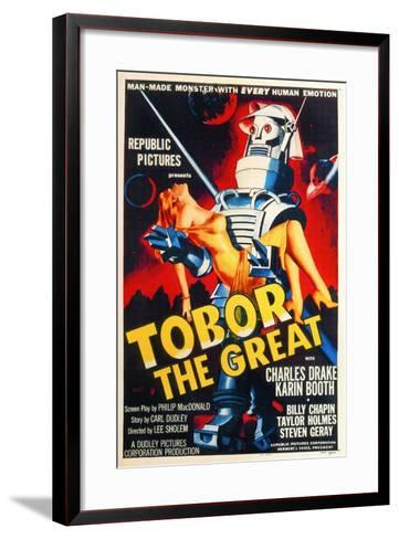 Tobor the Great, 1954, Directed by Lee Sholem--Framed Art Print