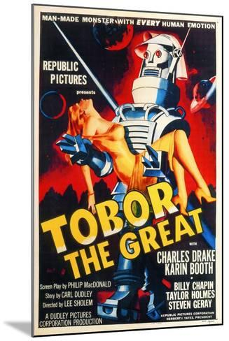 Tobor the Great, 1954, Directed by Lee Sholem--Mounted Giclee Print
