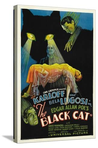 "The House of Doom, 1934, ""The Black Cat"" Directed by Edgar Ulmer--Stretched Canvas Print"